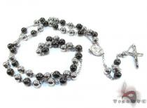 Stainless Steel Rosary 24 Inches 8mm 103 Grams ステンレススティールチェーン