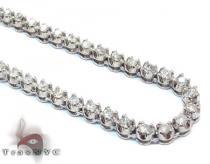 Mini Polar Ice Chain 36 Inches 4mm 57.1 Grams ダイヤモンド チェーン