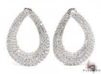 Esmeralda Diamond Chandelier Earrings Style