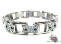 White Stainless Steel Bracelet ステンレススティール ブレスレット