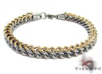 Two Tone Stainless Steel Bracelet Stainless Steel Bracelets