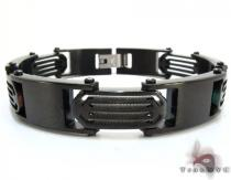 Black Stainless Steel Bracelet Stainless Steel