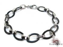 Two Tone Stainless Steel Bracelet ステンレススティール ブレスレット