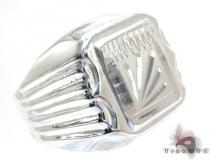 Mens Cheap Raising The Bars Silver Ring Mens Silver Rings