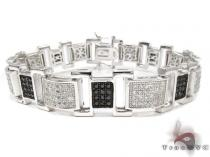 White Rhodium Silver Bracelet シルバー ブレスレット