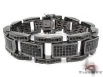 Black Rhodium Silver Bracelet Sterling Silver Bracelets