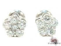 Flower Earrings ダイヤモンド スタッズイヤリング