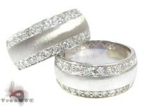 Classy Wedding Band Set Diamond Wedding Sets