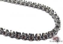 Black Gold Black Diamond Chain 26 Inches, 5mm, 52.8 Grams Diamond
