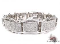 White Silver CZ Bracelet Silver