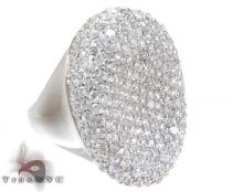 White Silver CZ Fashion Ring Silver Rings For Women