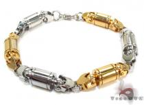Two Color Stainless Steel Bracelet Stainless Steel Bracelets