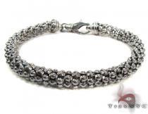 Black Silver Bracelet シルバー ブレスレット
