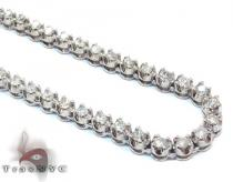 Polar Ice Chain 40 Inches 4mm 57.1 Grams ダイヤモンド チェーン