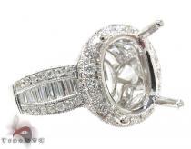 18K Gold Diamond Semi Mount Ring 25594 セミマウント ダイヤモンド リング