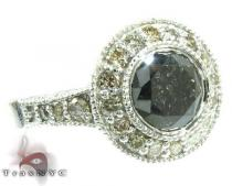 Silver Diamante Perfection Ring Silver Rings For Women
