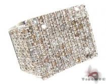 Silver Diamond Modern Ring メンズ シルバー リング