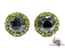 Canary Euphoria Earrings メンズ ダイヤモンドスタッズイヤリング