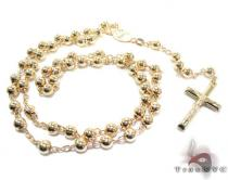 Rosary Silver Chain 26 Inches, 5mm, 36 Grams シルバーチェーン