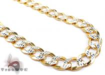 Cuban Diamond Cut Chain 22 Inches, 7mm, 35.1 Grams Silver Chains