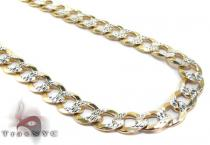 Cuban Diamond Cut Chain 30 Inches, 7mm, 38.2 Grams Silver Chains