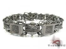 Execution Silver Diamond Bracelet 26102 シルバー ブレスレット