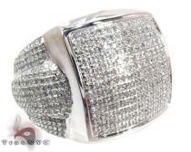 Pave Jumbo Diamond Ring Mens Diamond Rings