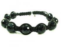 Black Bead Ball Bracelet Rope Bracelets