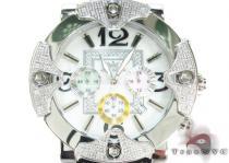 Aqua Techno Diamond with Pastel Color Chronograph Dial Watch Aqua Techno