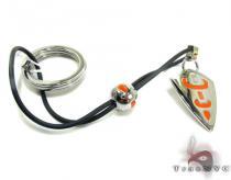 Baraka BK-UP Stainless Steel Key Chain PO50121 ステンレススティールペンダント