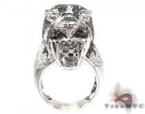 Cougar Black and White Diamond Ring メンズ ダイヤモンド リング