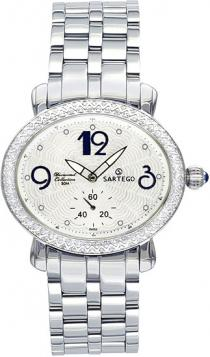 Sartego Sdwt060s Ladies Watch Diamond White Dial Sartego