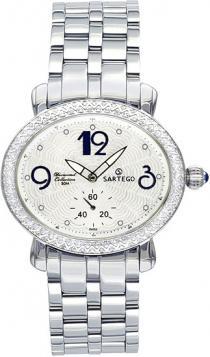 Sartego Sdwt060s Ladies Watch Diamond White Dial Sartego