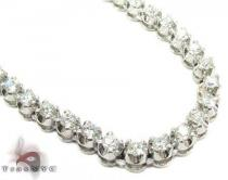 Polar Ice Diamond Chain 32 Inches 4mm 56.1 Grams Diamond Chains