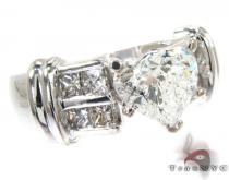 Heart Shape with Invisible Diamond Ring Diamond Wedding Rings