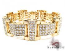 Jupiter Diamond with Yellow Gold Bracelet メンズ ダイヤモンド ブレスレット