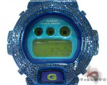 G-shock Blue Color Diamond Case with Watch DW6900CS G-Shock