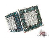 Sparkling Iced Diamond Ring カラー ダイヤモンド リング
