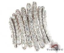 18K White Gold Ice Goddess Diamond Ring Anniversary/Fashion