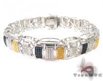 Exultation Silver Diamond Bracelet Sterling Silver Bracelets