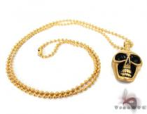 Skull Stainless Steel Chain 30 Inches, 2mm, 32.6 Grams Stainless Steel