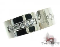 Mens Cheap Embroidery Designed CZ Stainless Steel Ring Stainless Steel Rings