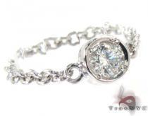 Bezel Diamond Chain Ring 27074 記念日用 ダイヤモンド リング