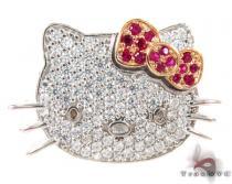 Hello Kitty Ruby Diamond Pendant ダイヤモンドペンダント