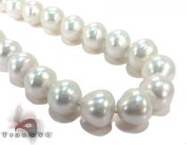 Sea Salt White Pearl Ladies Necklace 27155 パールネックレス