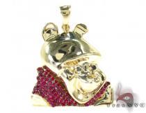 Custom Winnie the Pooh Pendant Diamond Pendants