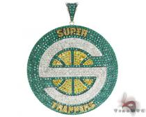 Custom Jewelry - Super Sonic Pendant Diamond Pendants