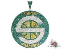 Custom Jewelry - Super Sonic Pendant Diamond Pendants