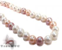 Multi-Color Pearl Necklace 27186 パールネックレス