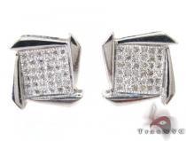 Boomerang Earrings 27229 Metal